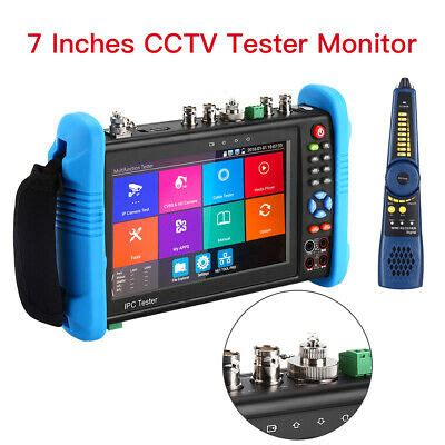 Touch Screen 7 Inch Monitor IP Camera Screen Portable