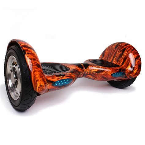 Hoverboard 10 Inch Wheels with Bluetooth Speaker-Flame