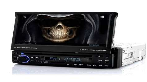 """1 DIN Android Car DVD Player """"Road Reaper"""" - 7 Inch Screen"""