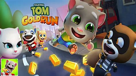 Talking Tom Gold Run (by Outfit7) - iOS / Android - HD
