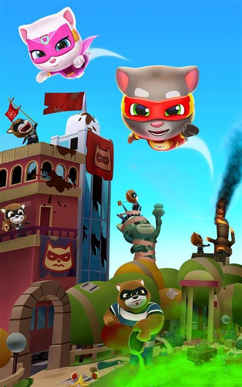Talking Tom Hero Dash for Android - APK Download