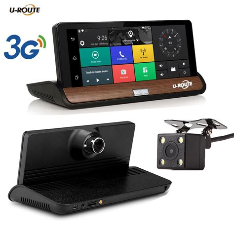 """New 7"""" IPS 3G Wifi Car DVR Camera Android 5"""
