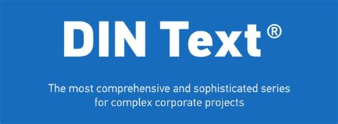 Din Text Compressed Pro Font Family Free Download